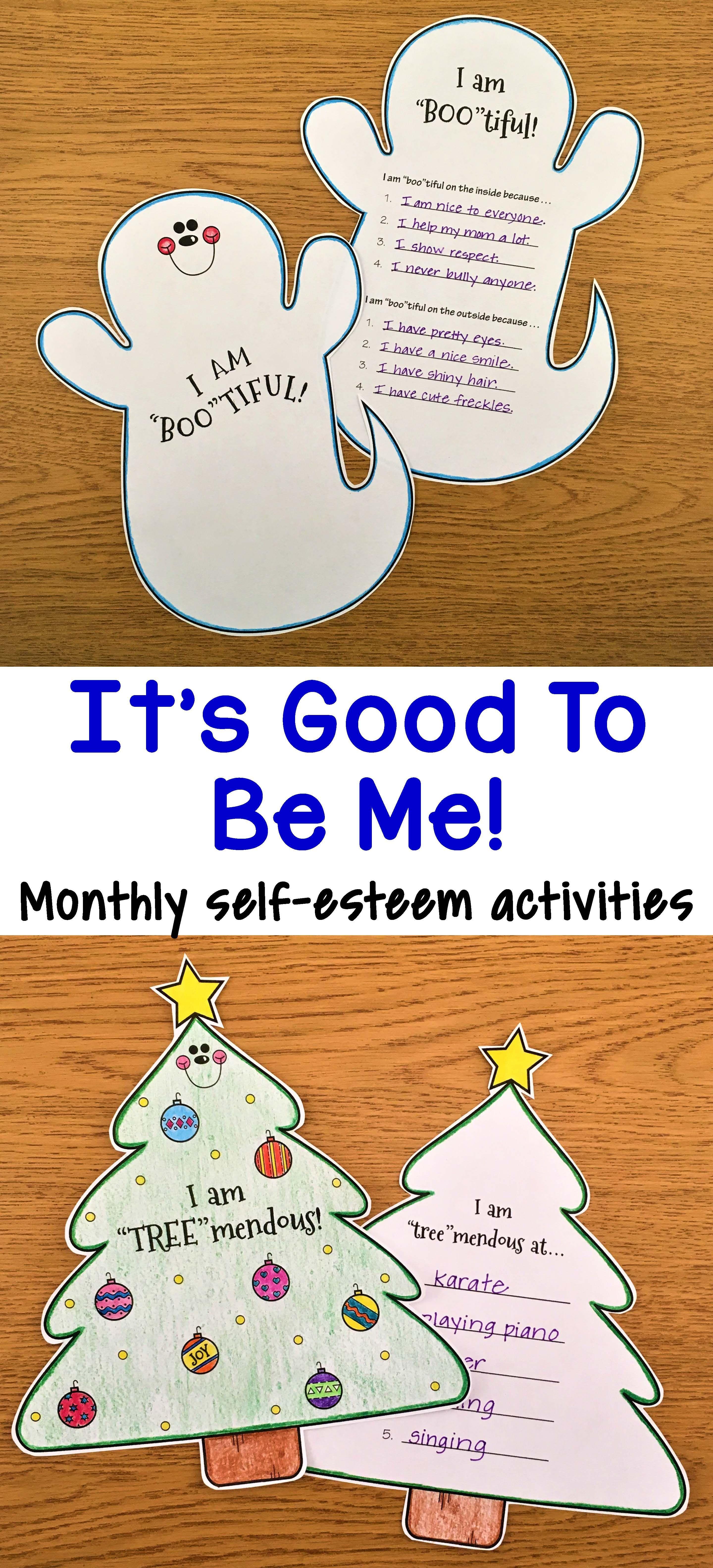 Self Esteem Activities With Images