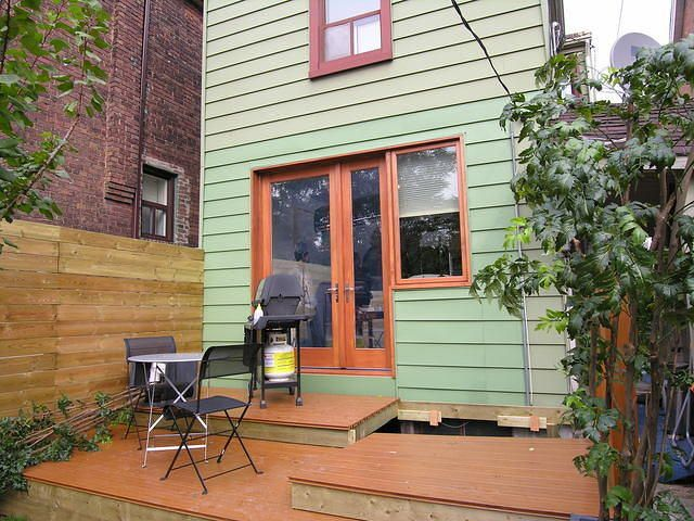 Asymmetrical French Door And Window Combination To One Day Replace The  Sliding Doors?