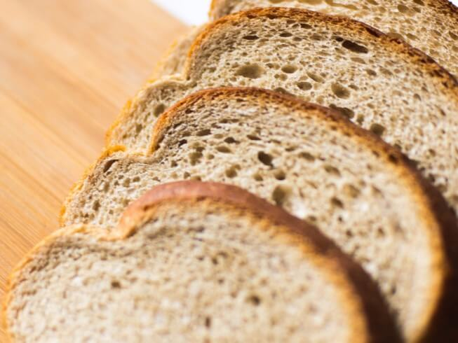 A Recipe For Buttermilk Honey Wheat Bread Made With Active Dry Yeast Whole Wheat Flour All Purpose Flour Baking So Honey Wheat Bread Wheat Bread Recipe Food