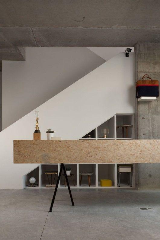 Siblings Factory Jds Design D Interieur De Detail Panneau Bois Osb Et Osb