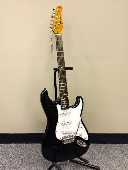 My Baby Jay Turser JT300 BK Electric Guitar Black Finish