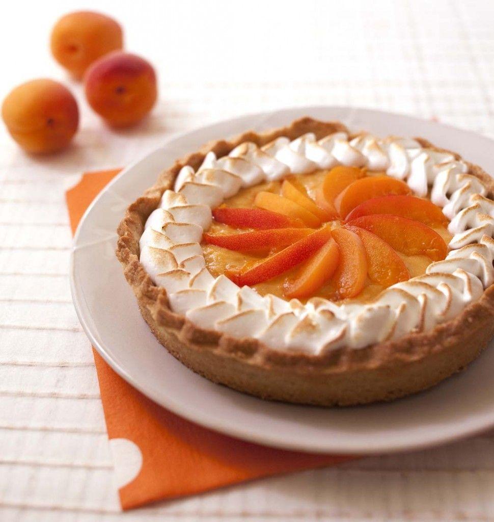 Tarte meringuée aux abricots - Recettes de cuisine Ôdélices
