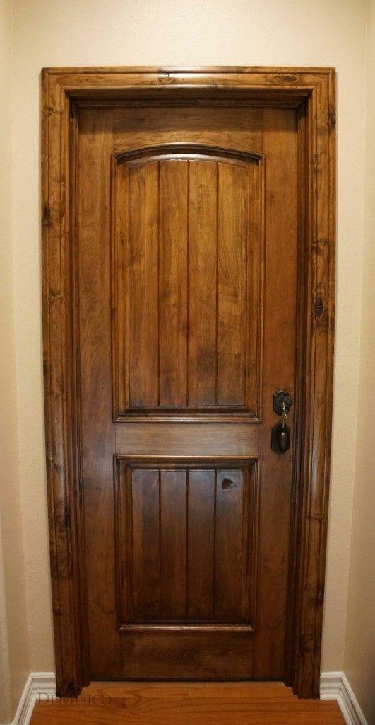 the puerta sencilla is a beautiful paneled interior door made from solid alder wood rustic interior doorsrustic - Rustic Wood Interior Doors