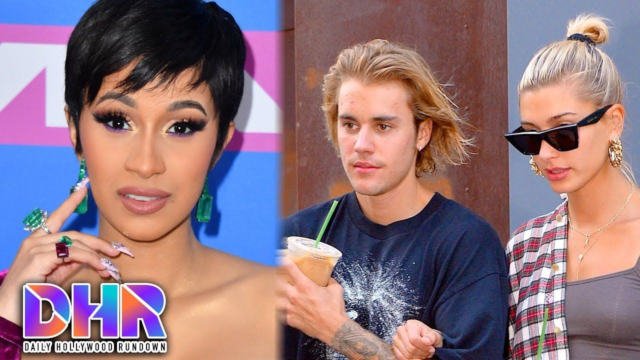 Cardi B Under Fire For Controversial Meme Hailey Baldwin Deletes Tweet About Marrying Justin Dhr Cardi B Memes Hollywood Video Cardi B