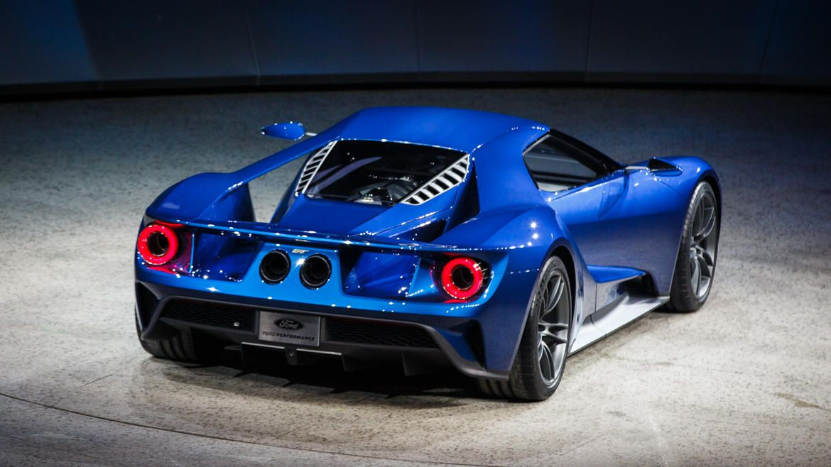 2016 Ford Gt Is The Sexiest Sheet Metal In Detroit Pictures