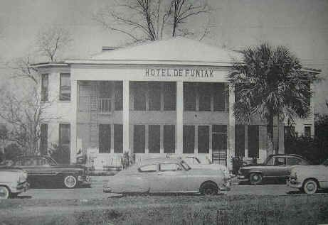 Hotel Defuniak Located At The Corner Of 11th Street Baldwin Avenue