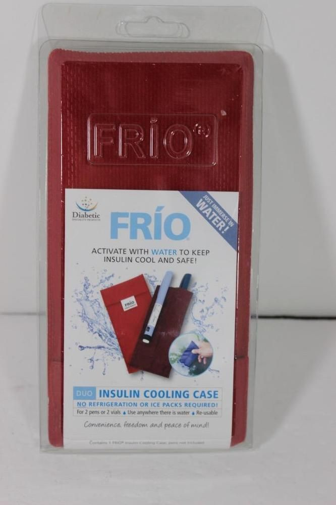 Frio Insulin Cooling Case No Refrigeration Or Ice Pack Needed New In Pack Red Frio Ice Pack Insulin Refrigerator
