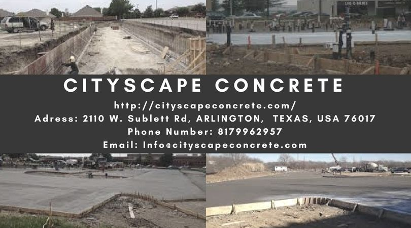 Call Cityscape Concrete For The Best Paving Contractors Fort Worth Tx When You Look For The Best Paving Contractors Fort Worth Tx You Will Fi Cityscape Concrete