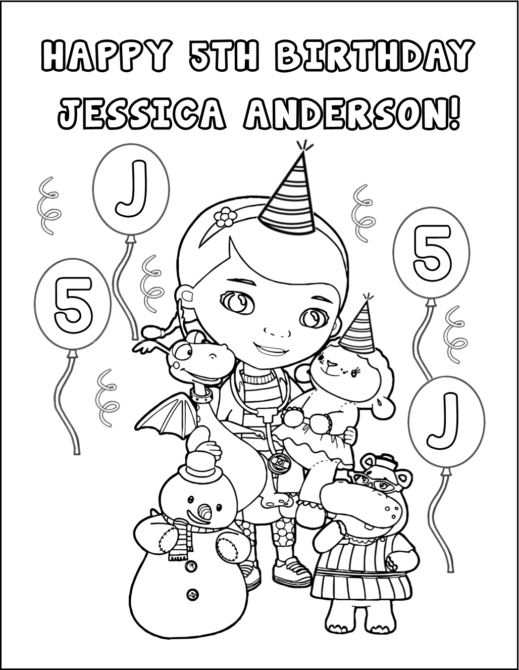 Top Doc Mcstuffin S Party Games And Ideas Doc Mcstuffins Toys Doc Mcstuffins Party Doc Mcstuffins Coloring Pages