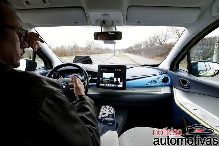 Carlos Ghosn diz que se legislação permitir, carro autônomo chega em 2018