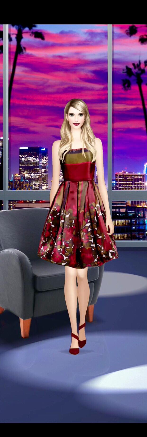 Emma Roberts Day 8: Late Night Talk Show