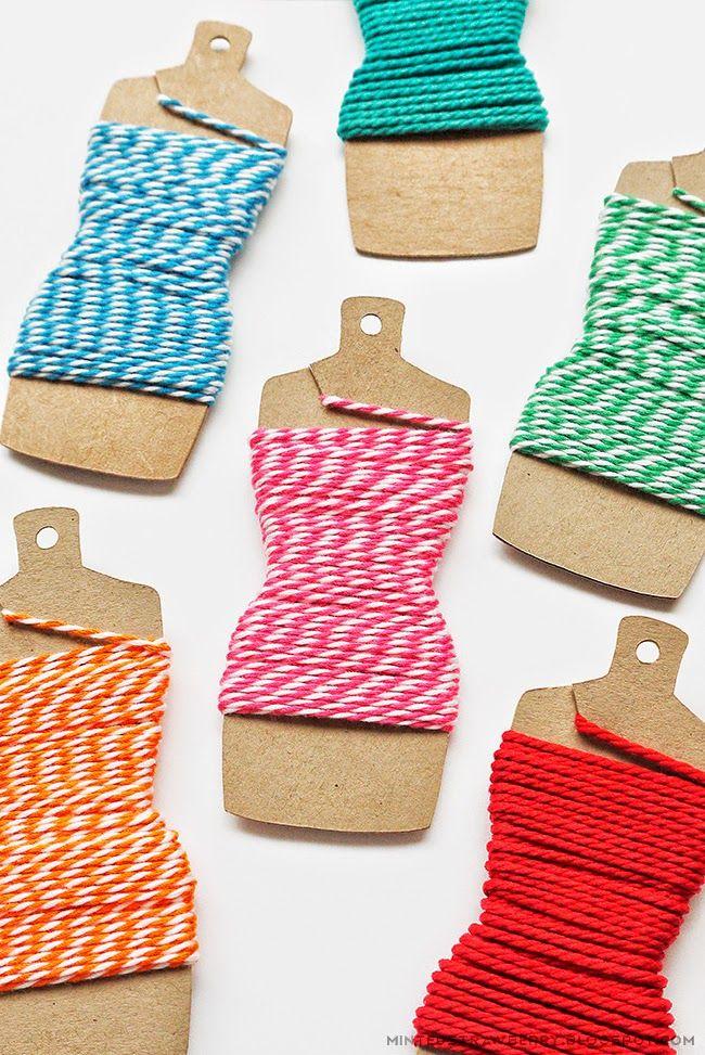 Diy Dressform Embroidery Thread Holders Template Diy