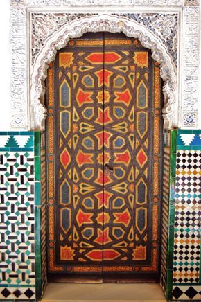 Tunisian door & Tunisian door | Les portes | Pinterest | Doors Gates and Portal