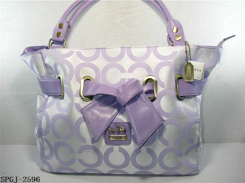 Itu0027s a cute purse, not because of the brand mostly style and color best of  all. Purple Coach -