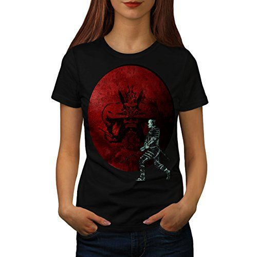 Samurai Fight Vortex Red Combat Women NEW L Tshirt  Wellcoda -- Want additional info? Click on the image.