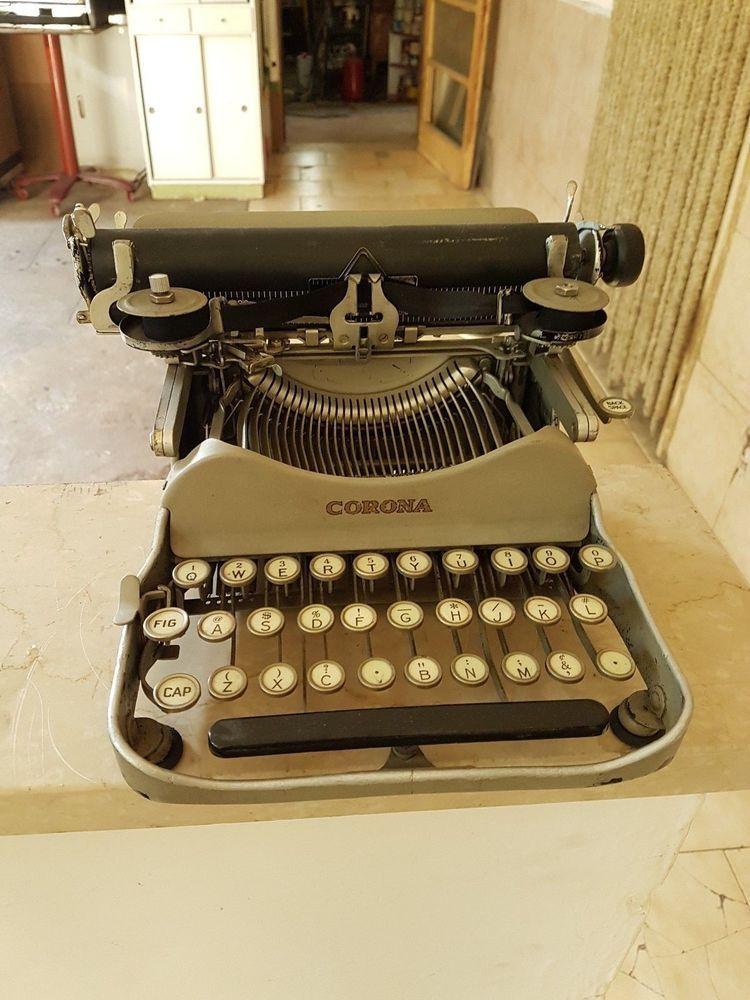 Corona 4 typewriter 1920/1930 Typewriter, Antique