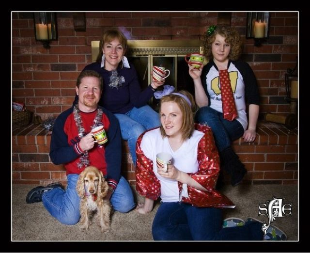 Ghosts of Christmas Cards Past- Family Christmas card ideas!
