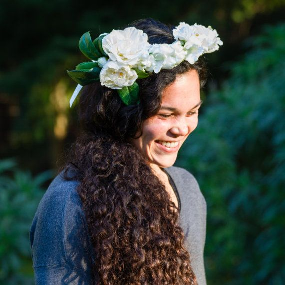 Your Place To Buy And Sell All Things Handmade White Flower Crown Bridal Flower Crown Bridal Flowers