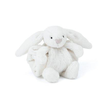 jellycat -  Bashful Cream Bunny Blankette