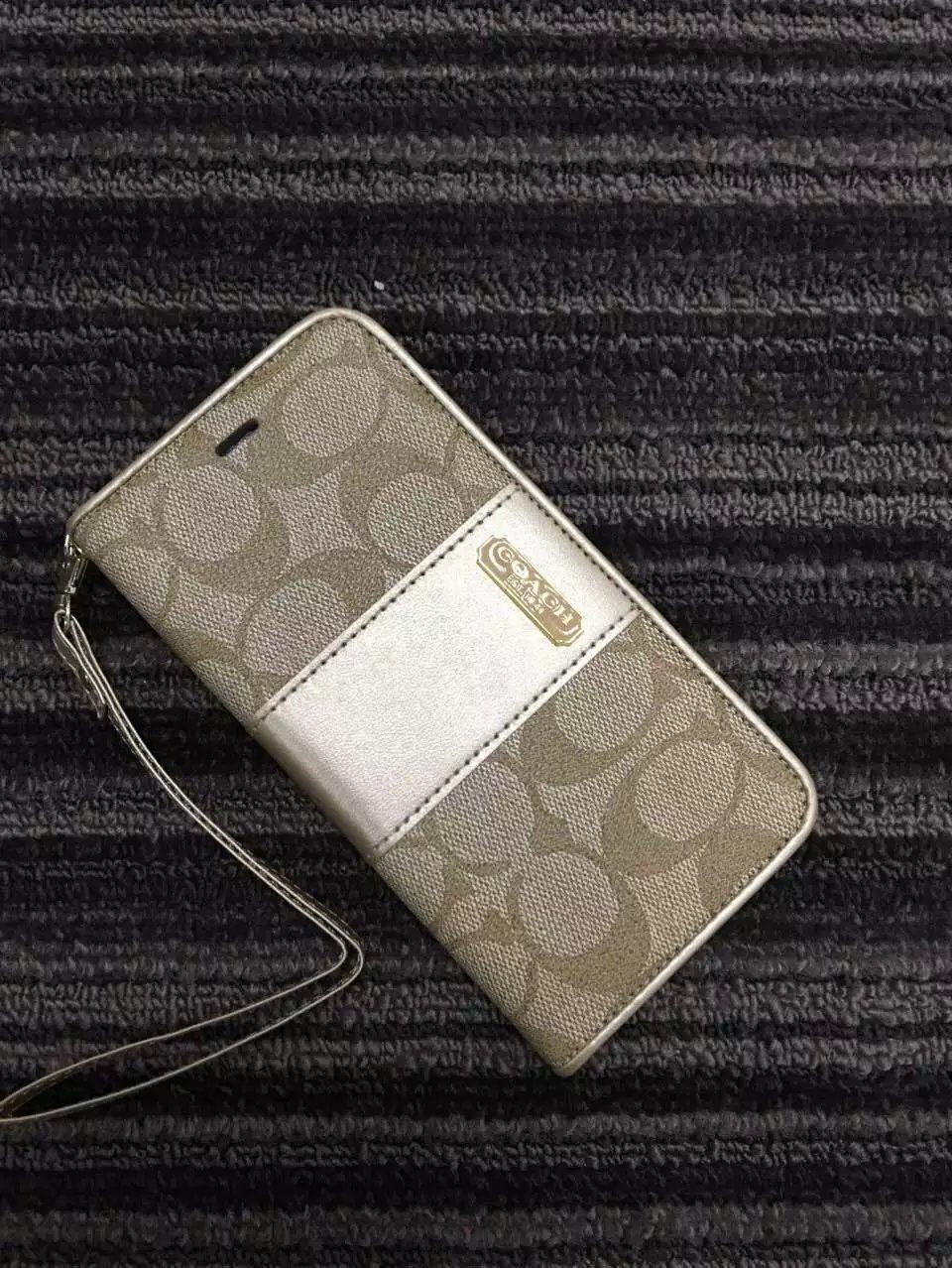 aba828f953 人気ブランド コーチ iphone 6s/6/SE/5S/5 ケース 手帳型 coach ...