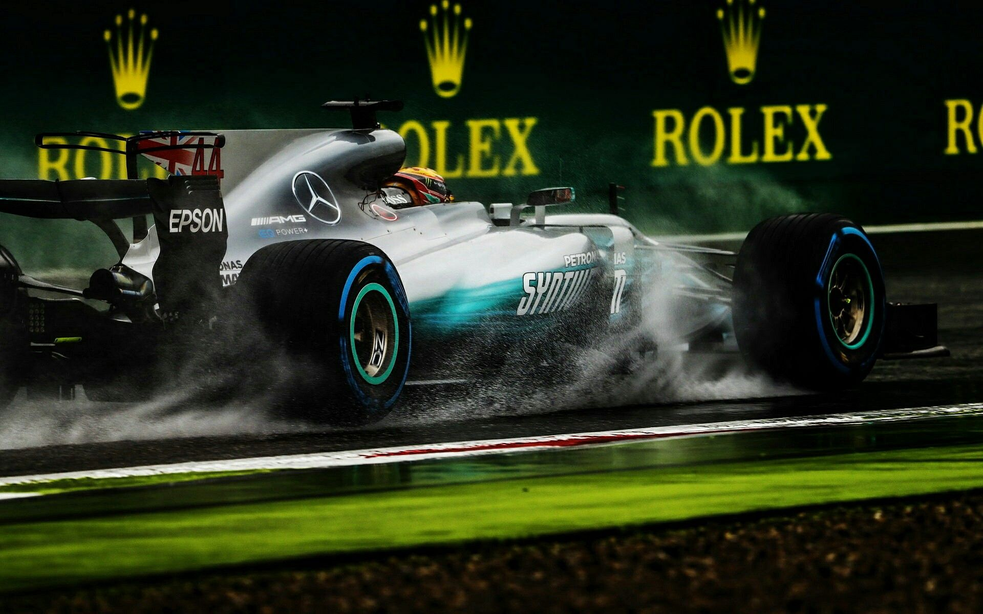 2017 Italian Gp Lewis Hamilton Mercedes Amg Printed Circuit Board Design Pcb Has Been Powering Through The Rain At Monza On His Way To A F1 Record 69th Pole Position
