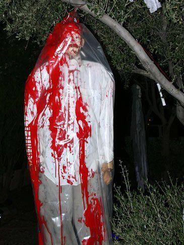 scary outdoor halloween decorating ideas Halloween Ideas DIY