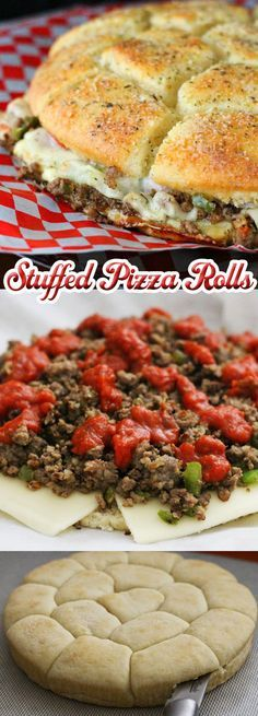 Stuffed Pizza Rolls