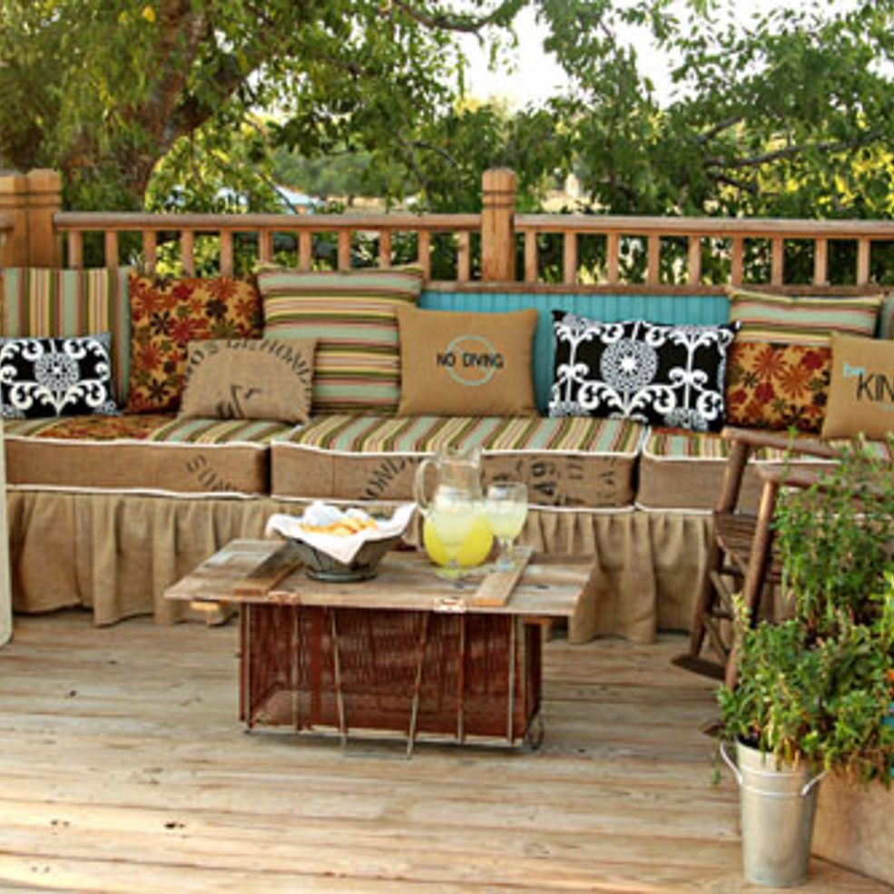 Make Your Own Outdoor Furniture Backyard Entertaining Outdoor Furniture Outdoor Rooms
