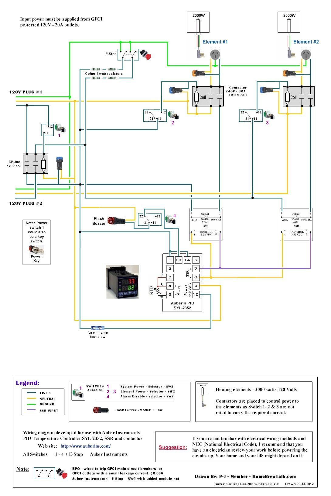 30 Fresh 120v Relay Wiring Diagram In 2020 Home Brewing Home Brewing Equipment Brewing