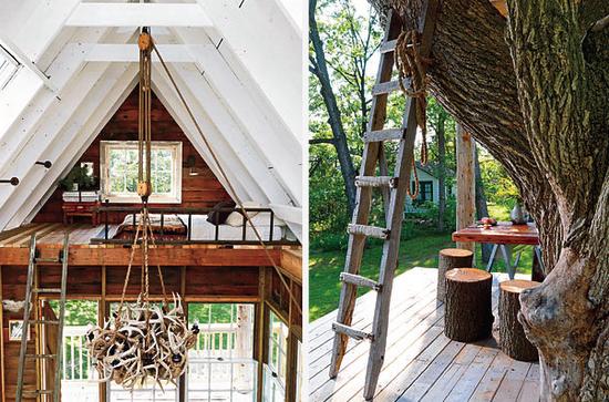 #loft and treehouse