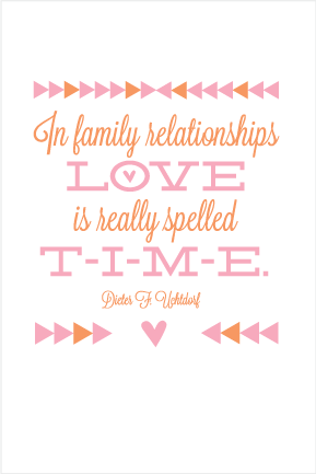 Free Printable In Family Relationship Love Is Really Spelled