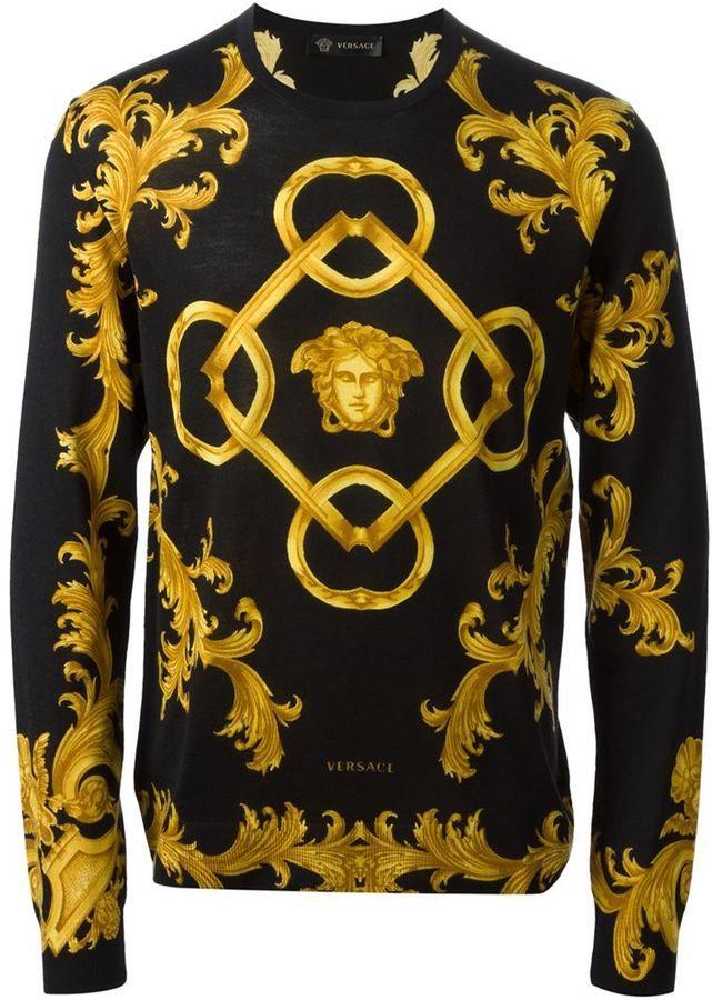 Versace baroque sweate...