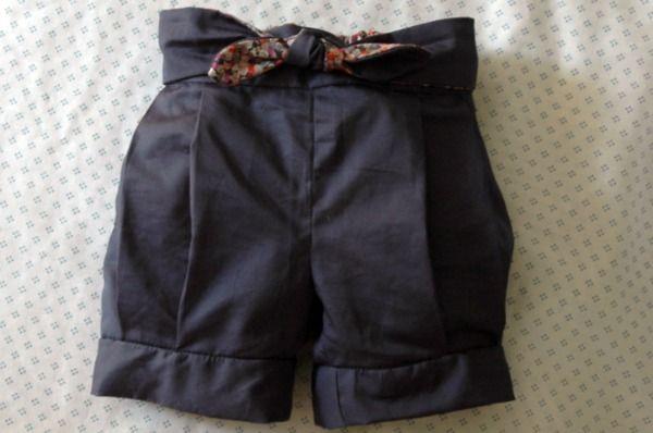 finch shorts pattern