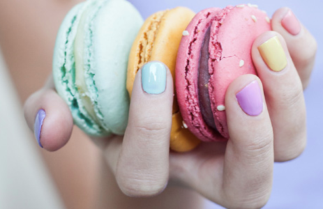 Here's a sneak peek at our bespoke lacquer collection for Spring 2013.     It's a fresh collection of nostalgic pastel colours that will conjure images of milkshakes and macaroons.     The lacquer collection will be available December 26th!