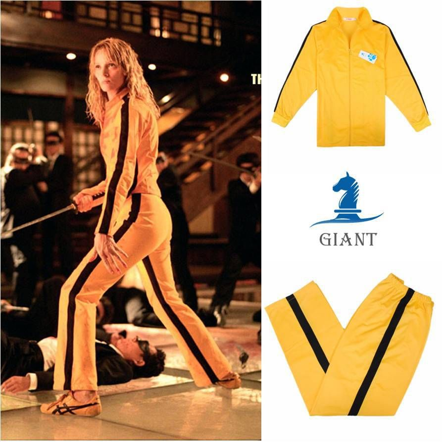 anime cosplay costume game of death bruce lee yellow. Black Bedroom Furniture Sets. Home Design Ideas