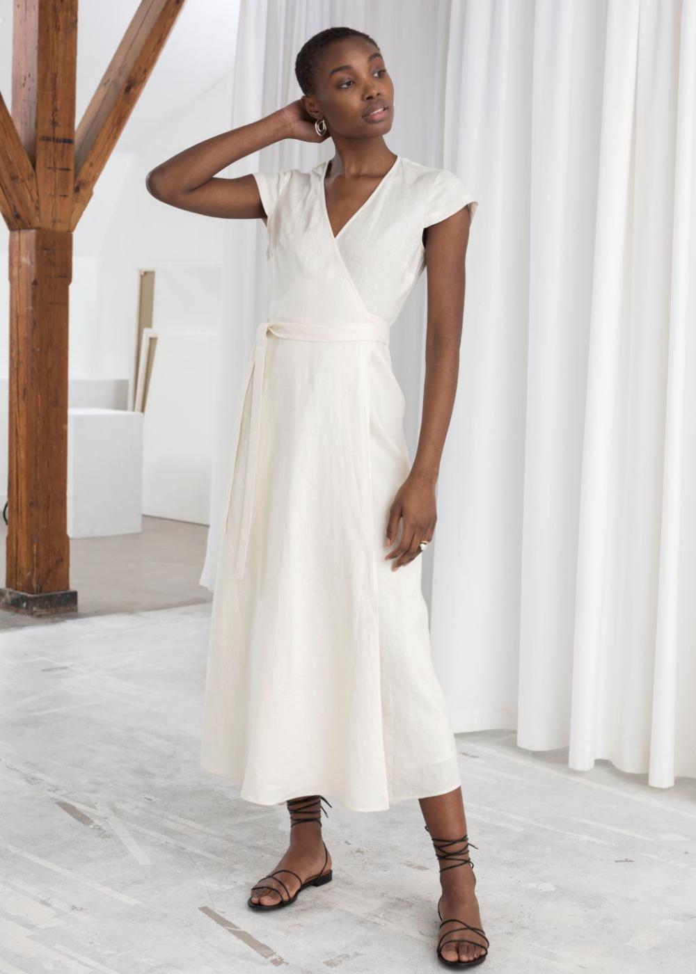 30+ Linen midi dress info
