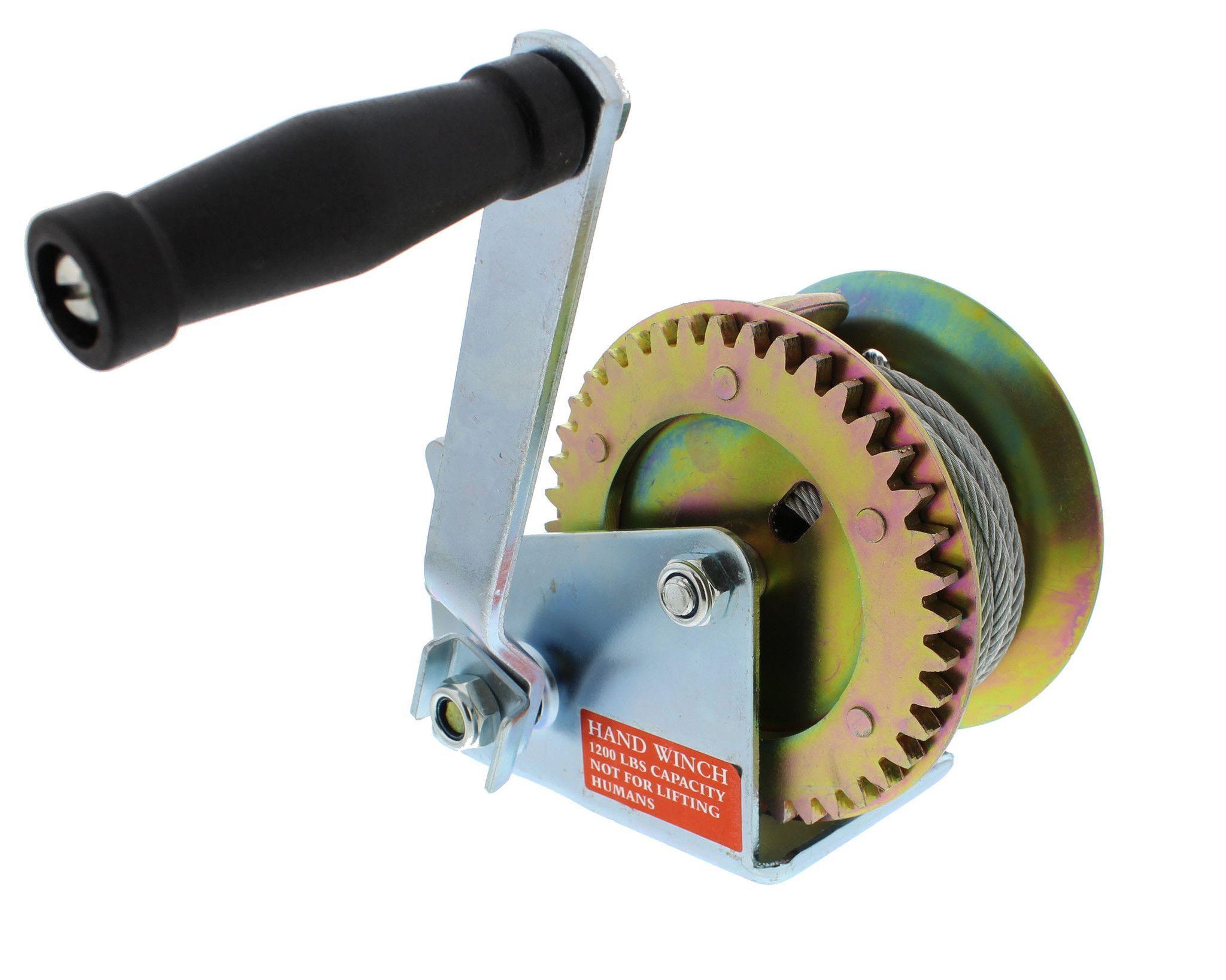 DIY & Tools 900 kg Hand Winch Ratchet Mechanism Winch Hand