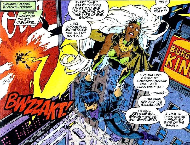 Yukio And Storm Marvel News Storm Xmen Marvel