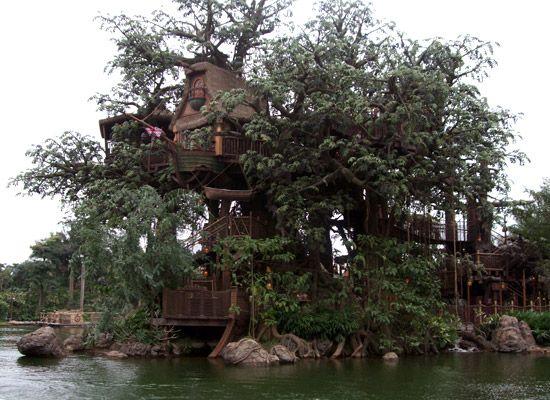 Unglaubliche Baumhäuser