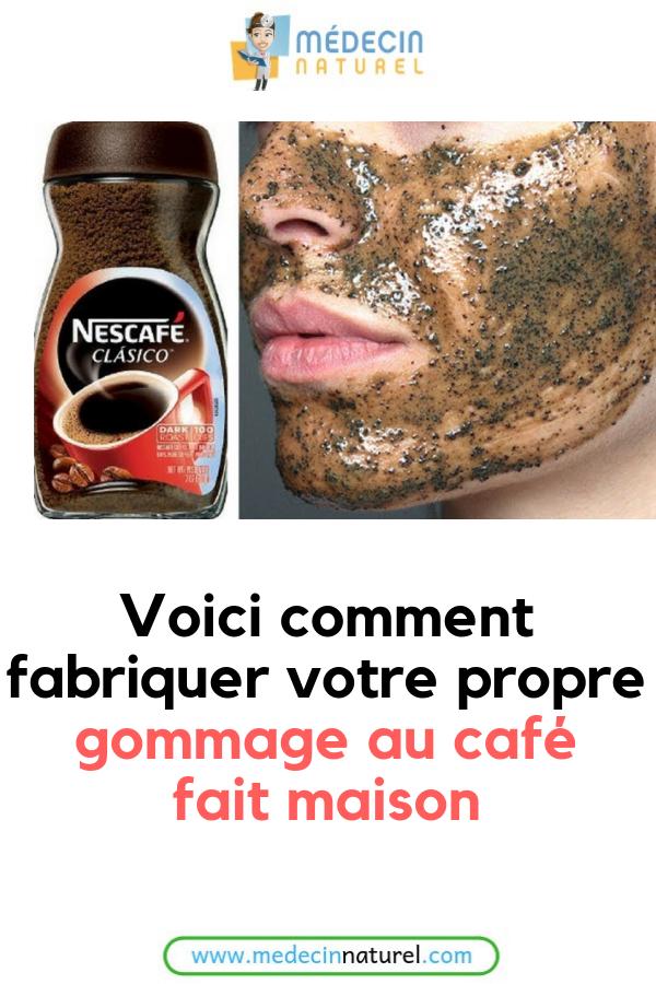 Voici Comment Fabriquer Votre Propre Gommage Au Cafe Fait Maison Cafe Gommage Beaute Peau Visage Diy Body Diy Beauty Skin