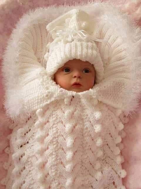 FISTIKLI ÖRNEKLİ BEBEKLERE TULUM BATTANİYE YAPIMI #crochetbabycocoon