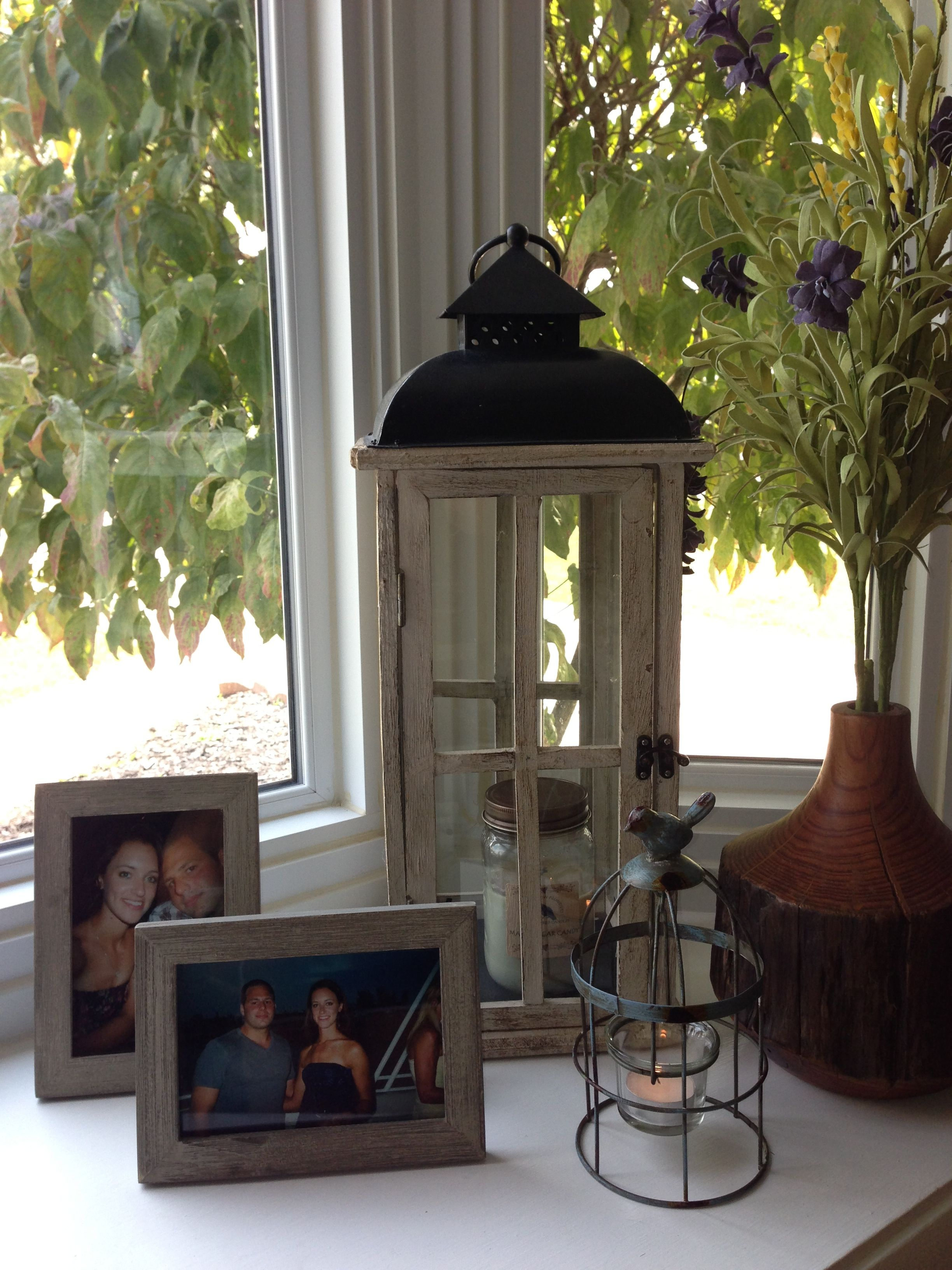 Decoration In My Bay Window With Images Bay Window Living