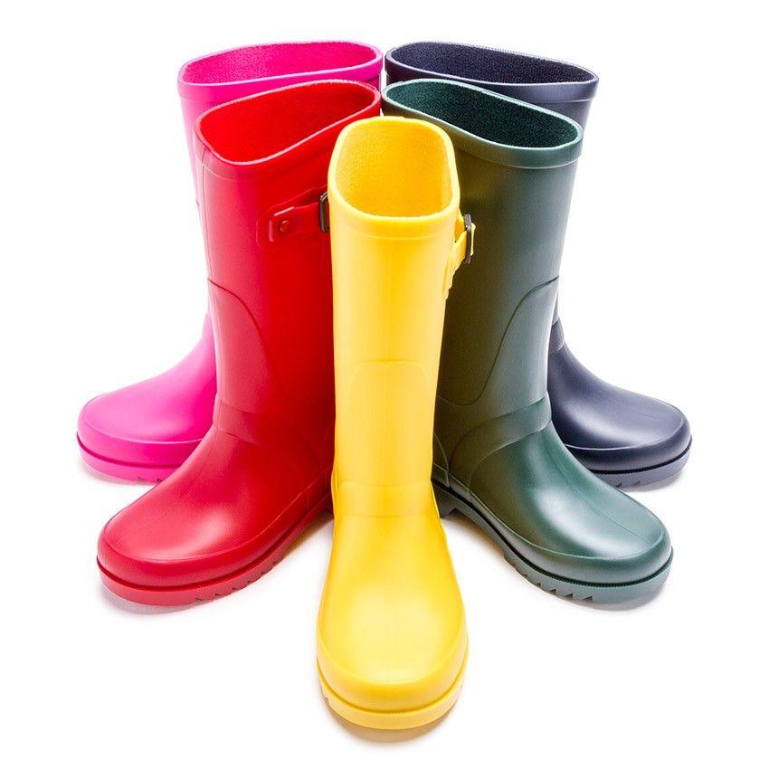 Botas de Agua tipo Hunter Niños hebilla - Calzado para Niños Pisamonas 853c816671d2a