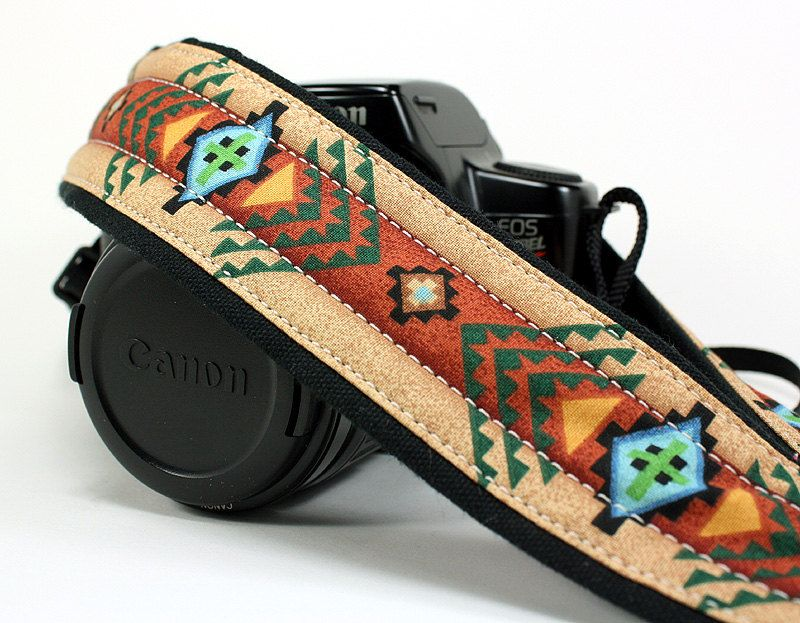 ed482747977584 Tribal Camera Strap