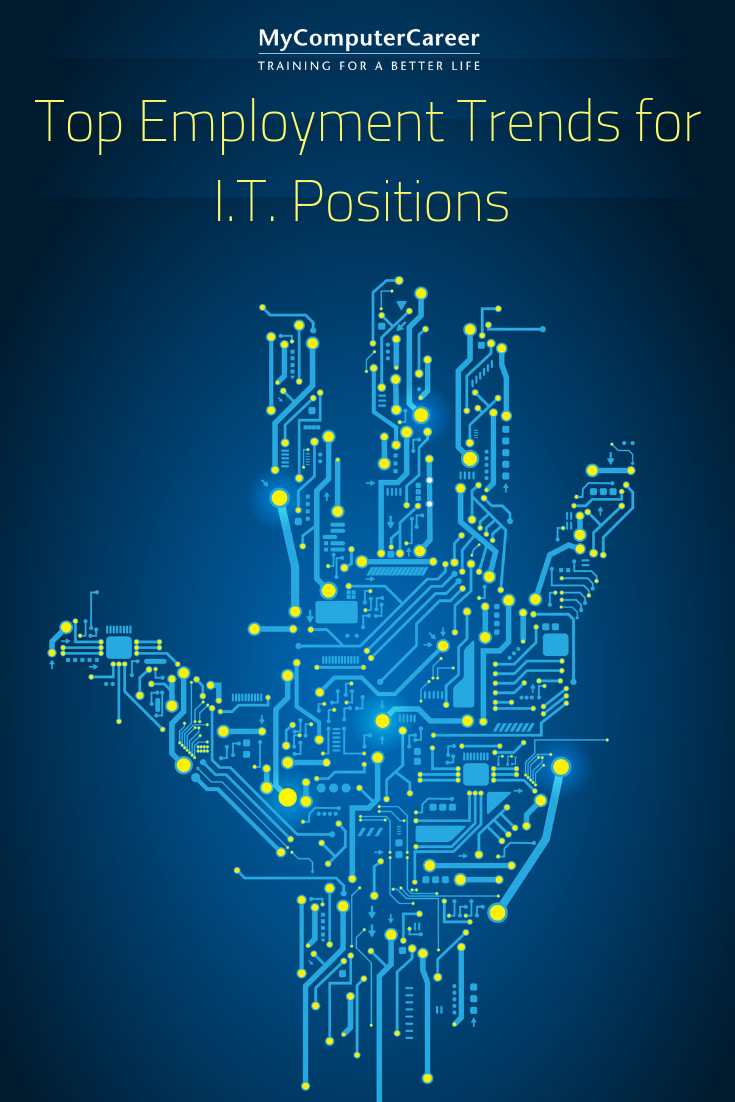 Top Employment Trends for I.T. Positions technology