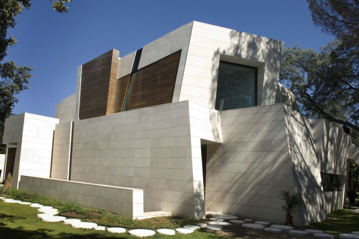 house in Madrid by a cero