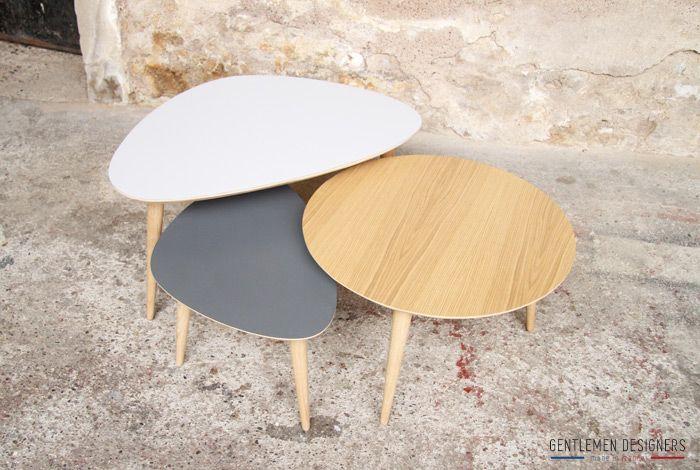 Gentlemen En DesignersMobilier Table Basse Tripode Fabriqué Alsace VpGSUzMq