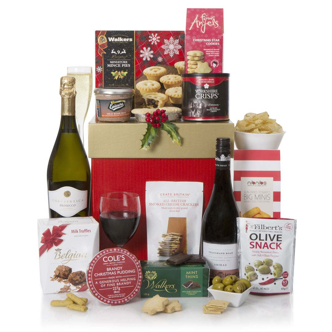 Silent Night Christmas Hamper Xmas Food Hampers UK