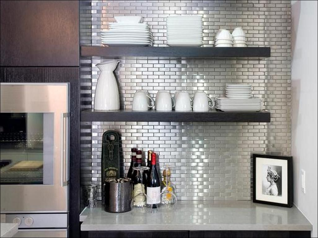 Kitchen L And Stick Vinyl Tile Backsplash Gl
