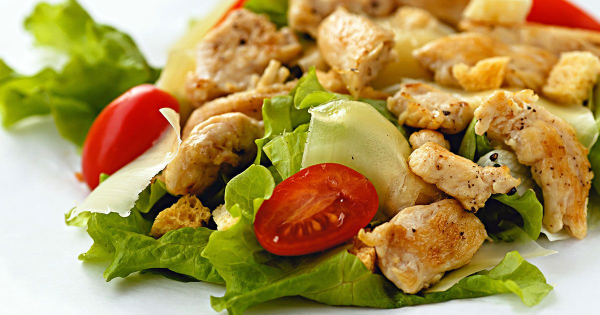 سيزر سالاد Recipe Food Salads Appetizers